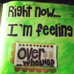 overwhelmed blog